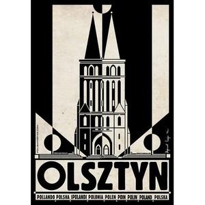 Olsztyn, plakat z serii...