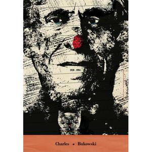 Charles Bukowski, plakat,...