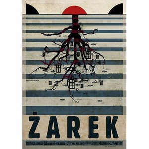 Żarek, plakat z serii...