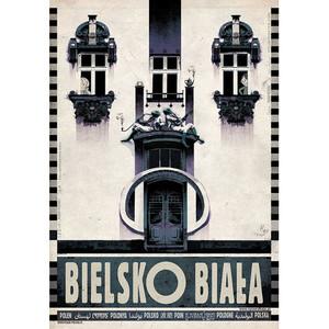 Bielsko-Biała, plakat z...