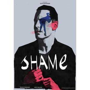 Wstyd, plakat filmowy,...