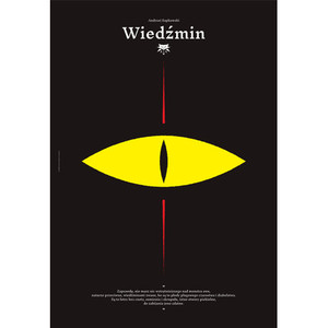 The Witcher, Polish Poster,...