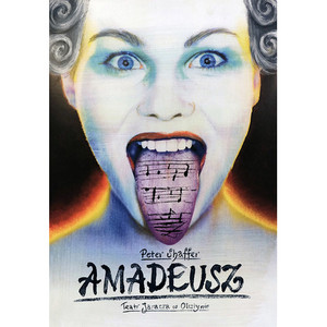 Amadeus, Theater Poster,...