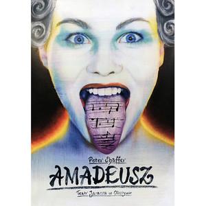 Amadeusz, plakat teatralny,...