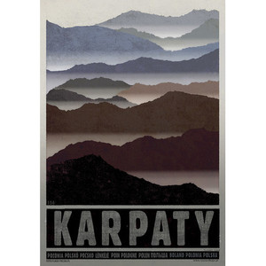 Carpathian Mountains Poster...