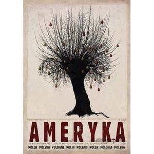 Ameryka, plakat z serii...