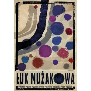 Muskau Bend, Polish Poster...