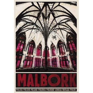 Malbork, Polish Poster by...
