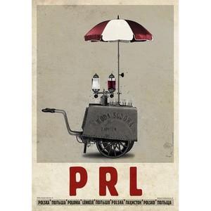 PRL, saturator, plakat z...