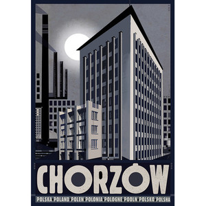 Chorzów, Polish Poster by...