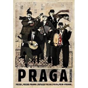 PRAGA Warszawska, plakat z...