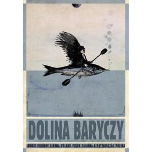 Dolina Baryczy, plakat z...