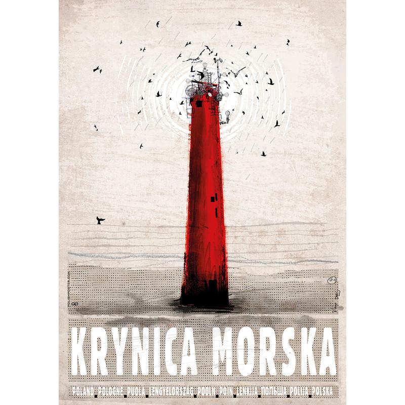 Krynica Morska Plakat Promocyjny Ryszard Kaja