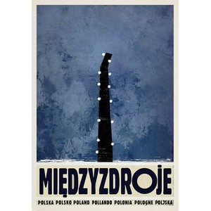 Miedzyzdroje, Polish Poster...