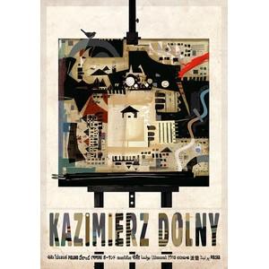 Kazimierz Dolny, plakat z...