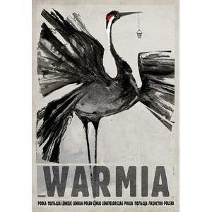 Warmia, plakat z serii...