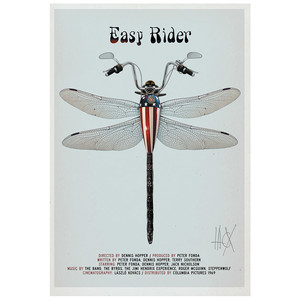 Easy Rider, plakat filmowy...