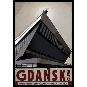 Gdansk Oliwa, Polish Poster...