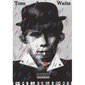 Tom Waits poster by Jakub...