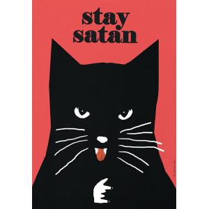 Stay Satan, Kot, plakat,...