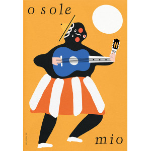 O Sole Mio, Poster by Jakub...