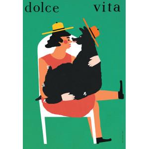 Dolce Vita, Poster by Jakub...