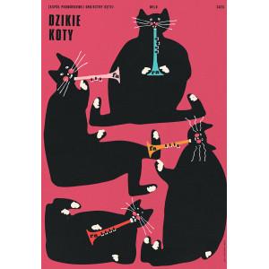 Dzikie Koty, plakat, Jakub...