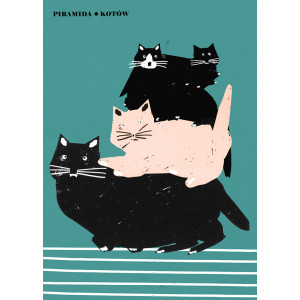 Pyramid of Cats, Poster by...