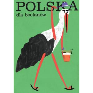 Poland for Storks, Poster...