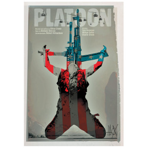 Platoon, Film Poster by...