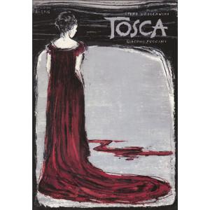 Tosca - Puccini, plakat...