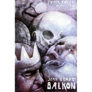 Balcony, Jean Genet, Polish...