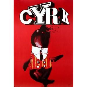 Circus - Seal, Polish Poster