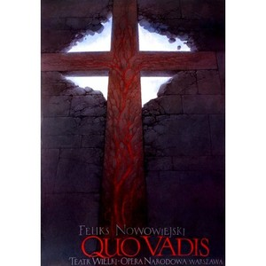 Quo Vadis, Polish Opera Poster