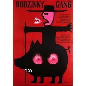Rodzinny gang,  plakat...