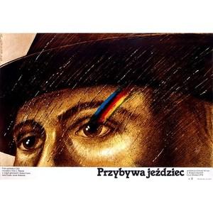 Przybywa jeżdziec, polski...