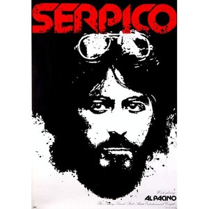 Serpico, Polish Movie Poster