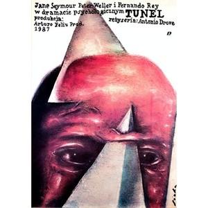 Tunnel, Polish Movie Poster
