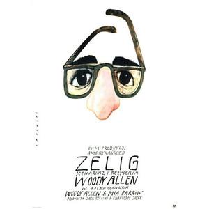 Zelig, polski plakat filmowy